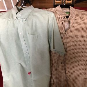 Men's Short Sleeved Dress Shirts